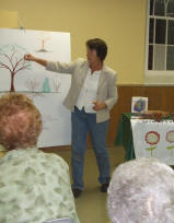 some basic tree anatomy & pruning talk for a local Horticultural Club